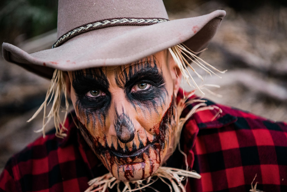 Creepy Scarecrow Makeup Las Vegas