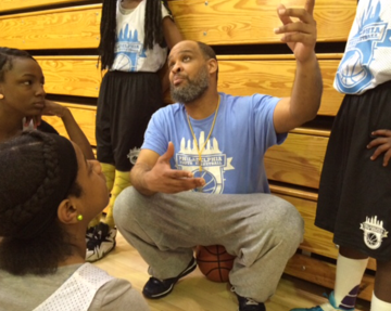 - Dhaamin Stukes has been coaching youth basketball, track, and football for over twenty years, primarily in the communities of Northwest Philadelphia.  He was the first year-round coach to be hired by Philadelphia Youth Basketball in 2015.  Coach Dhaamin brings the same passion to the holistic, positive development of urban young people as he did for many years in coaching his three sons, all of whom have played, are playing, or will play college basketball.  He also has coached and guided many young athletes to play their sports in college, some of whom have enjoyed careers in the NBA, NFL or played professionally overseas.  Coach Dhaahim's coaching style is one of a