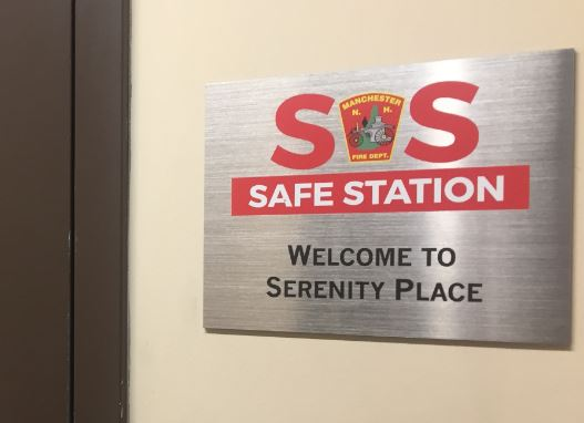 For the past year or so, Serenity Place in Manchester has seen 100 percent of all Safe Station referrals, amounting to about 2,000 people.  CREDIT: PAIGE SUTHERLAND/NHPR