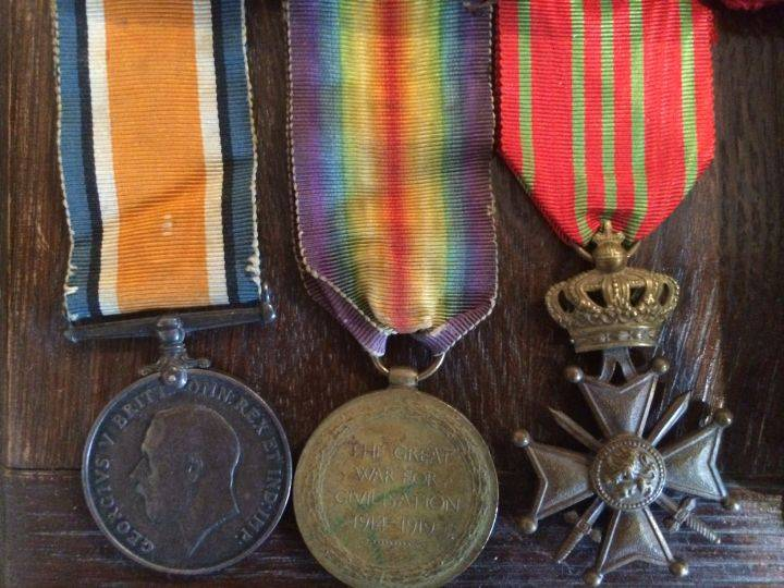 Thomas H. Ford's medals from the First World War.  Gord Steinke, Global News