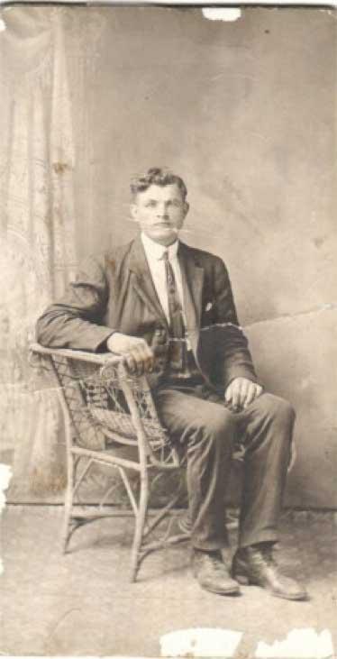 Joseph Komich – March 14, 1885 – March 27, 1967  (circa 1918)