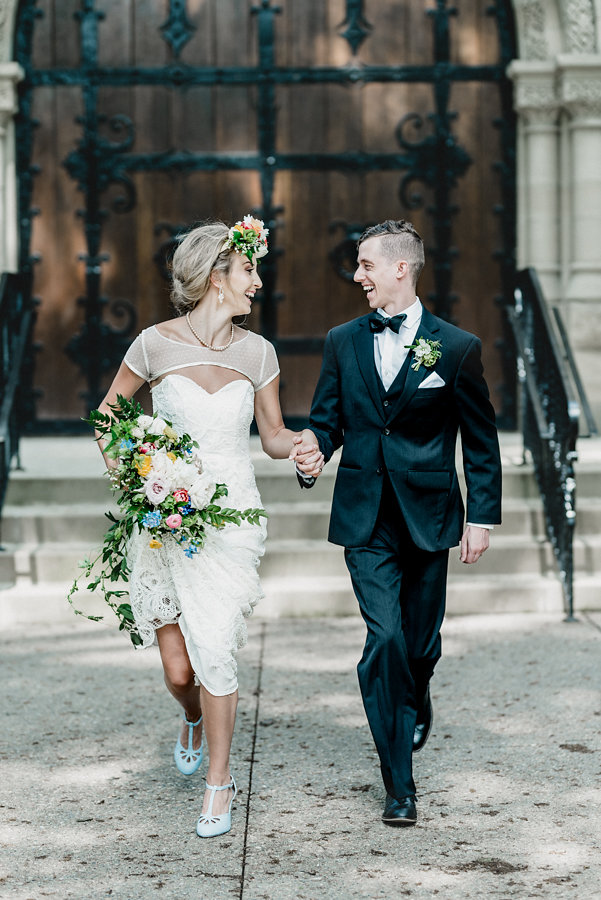 Pittsburgh Vintage Heirloom Wedding