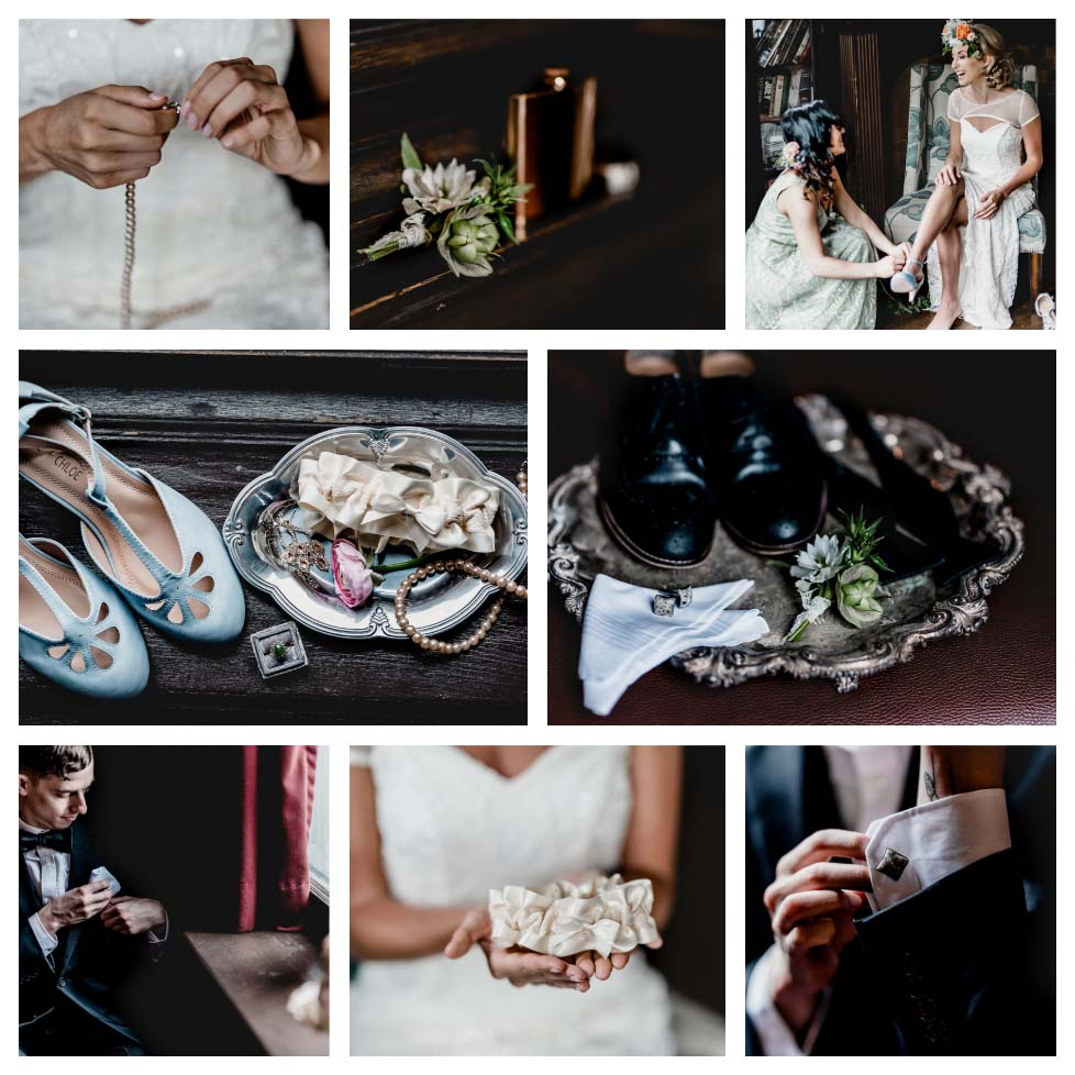 Pittsburgh Heirloom Wedding Details