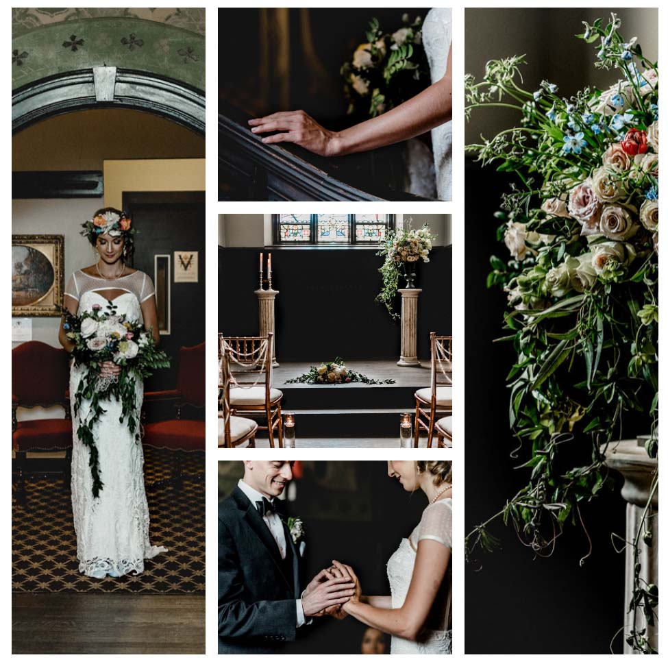 Pittsburgh Vintage Heirloom Wedding Ceremony