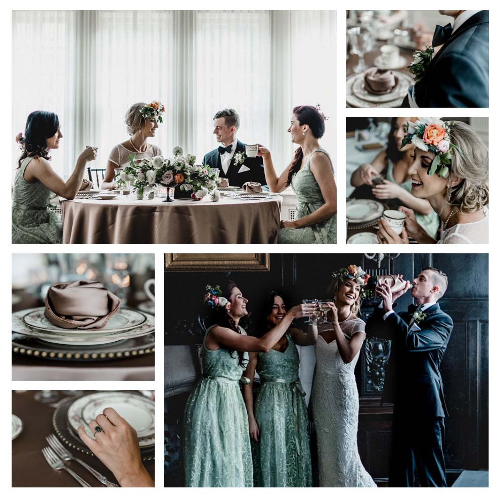 Pittsburgh Vintage Heirloom Reception