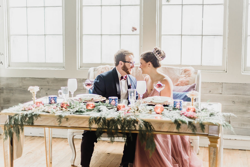 Pittsburgh Nutcracker Wedding Sweetheart Table