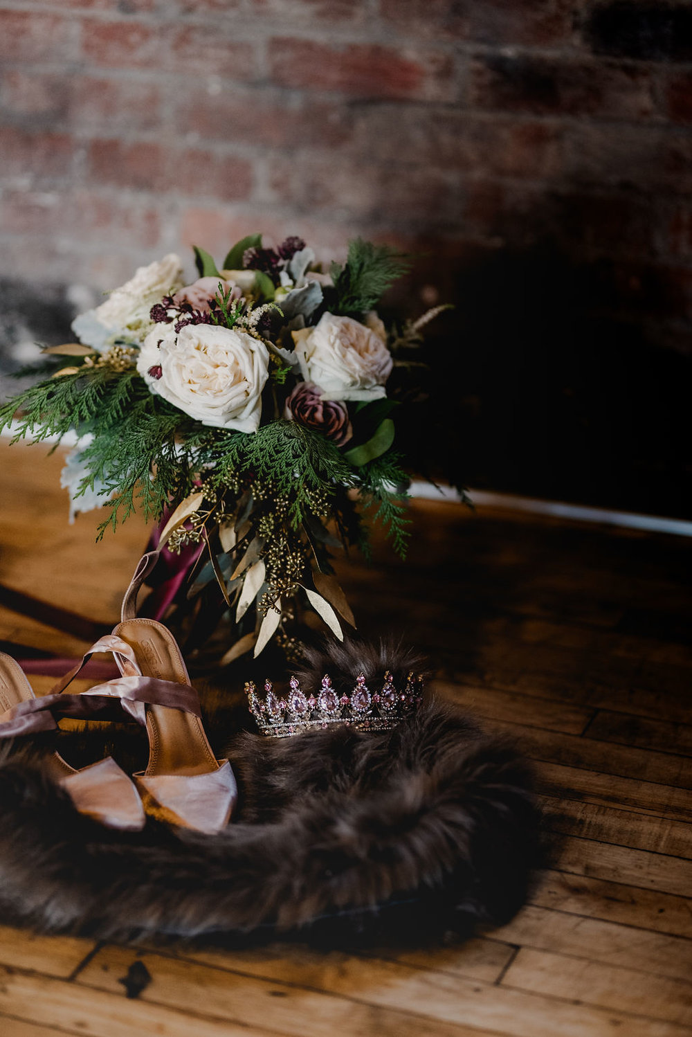 Pittsburgh Nutcracker Wedding Bouquet