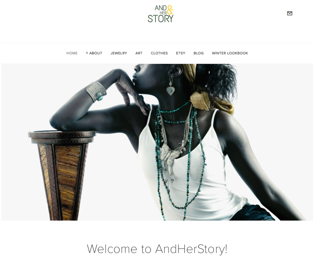 Change History with AndHerStory - Jewelry, artwork, clothing, and more!