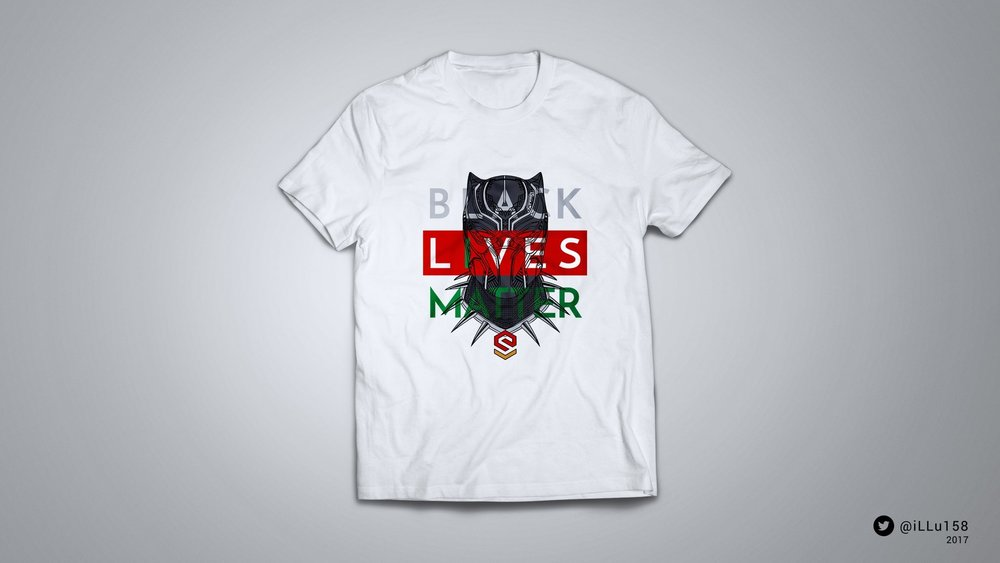 Black Panther - Black Lives Matter