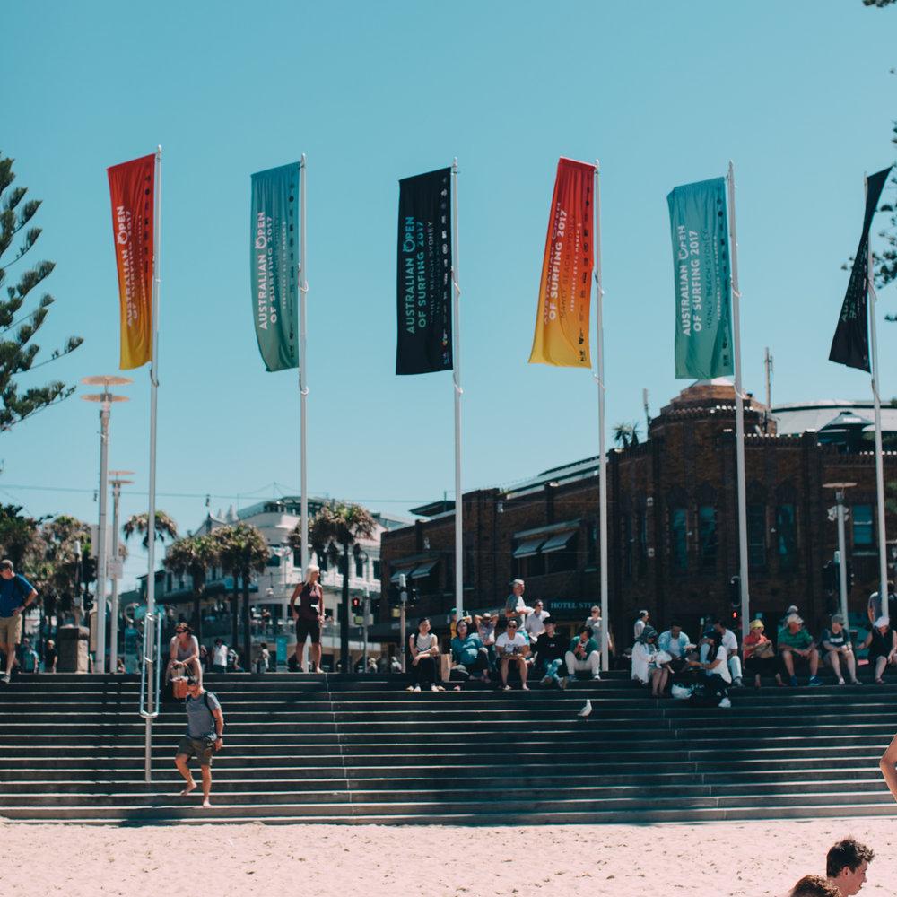 manly beachfront