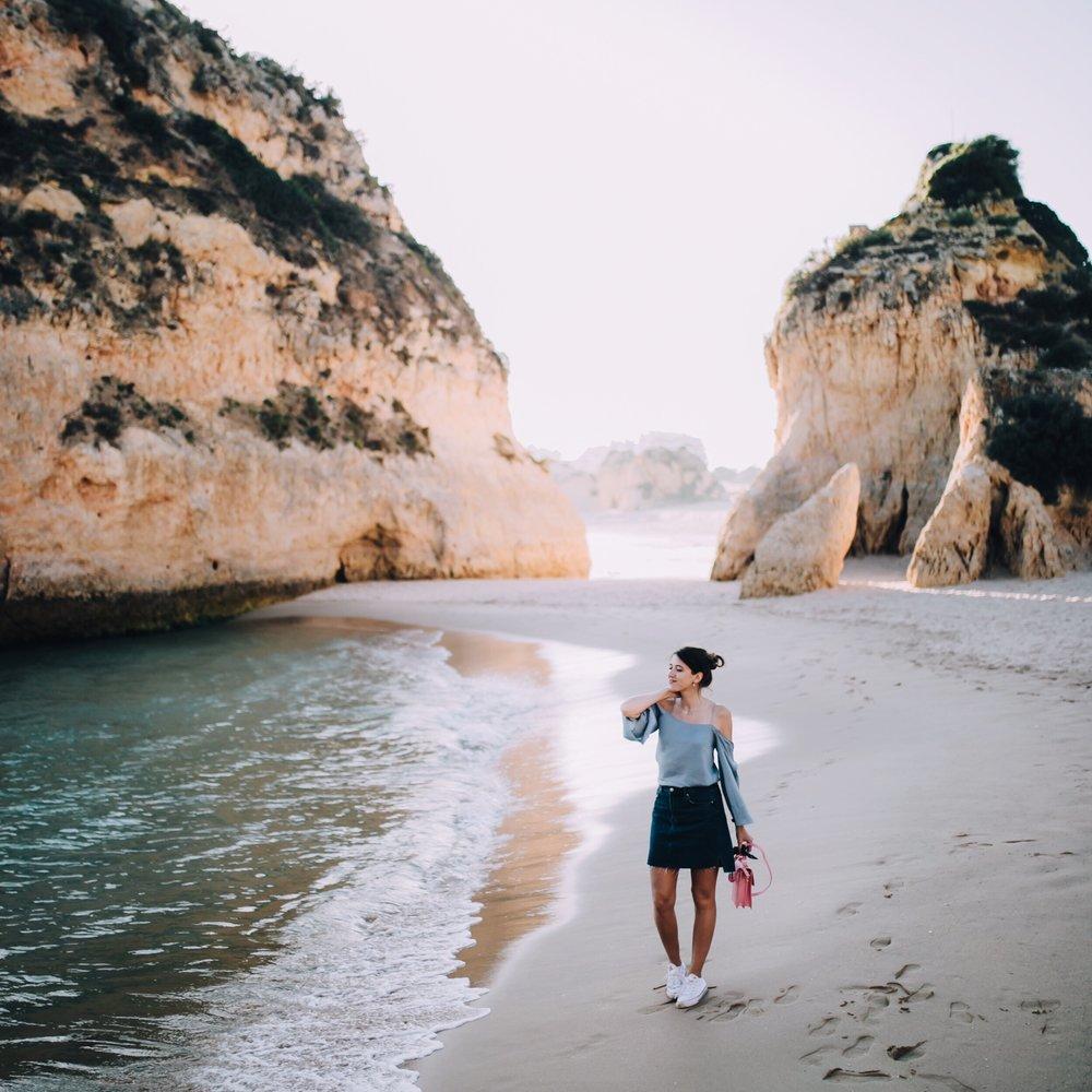 Praia Dos Tres Irmaos -explore around the rocks for some amazing views