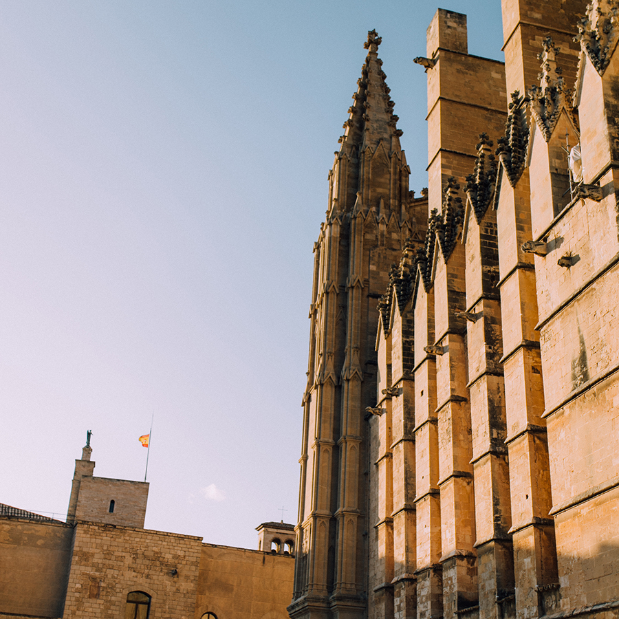 palma is FILLED with epic buildings like this