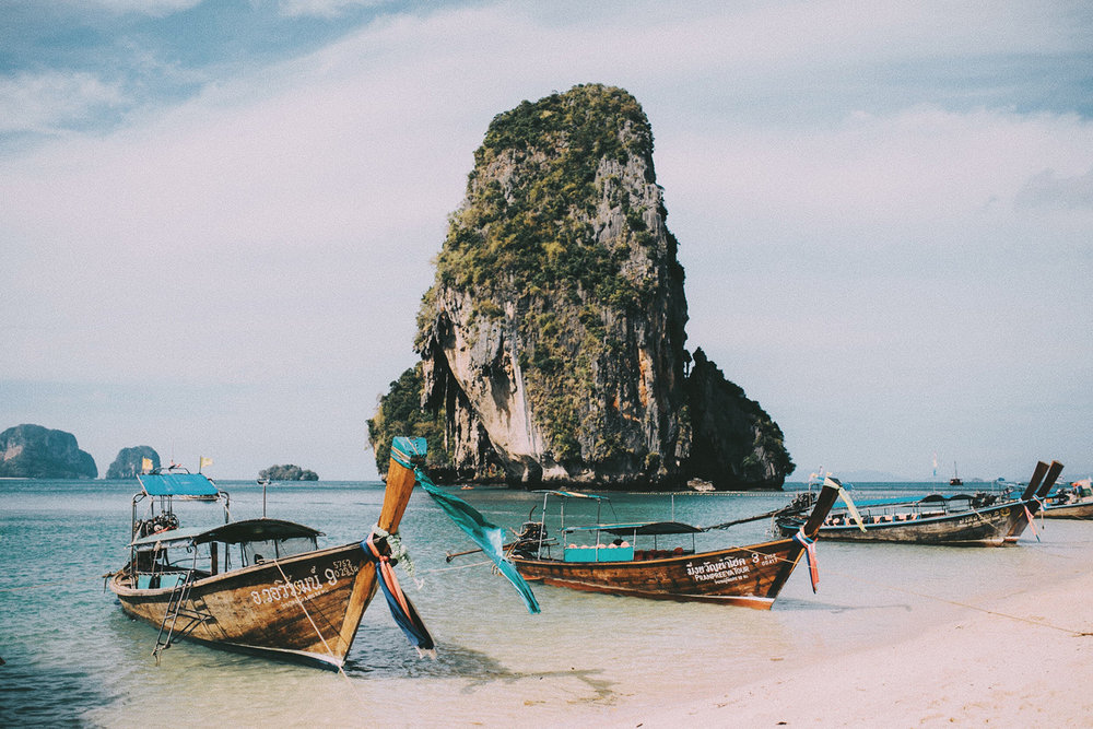 my little postcard from railay - ao phra nang beach