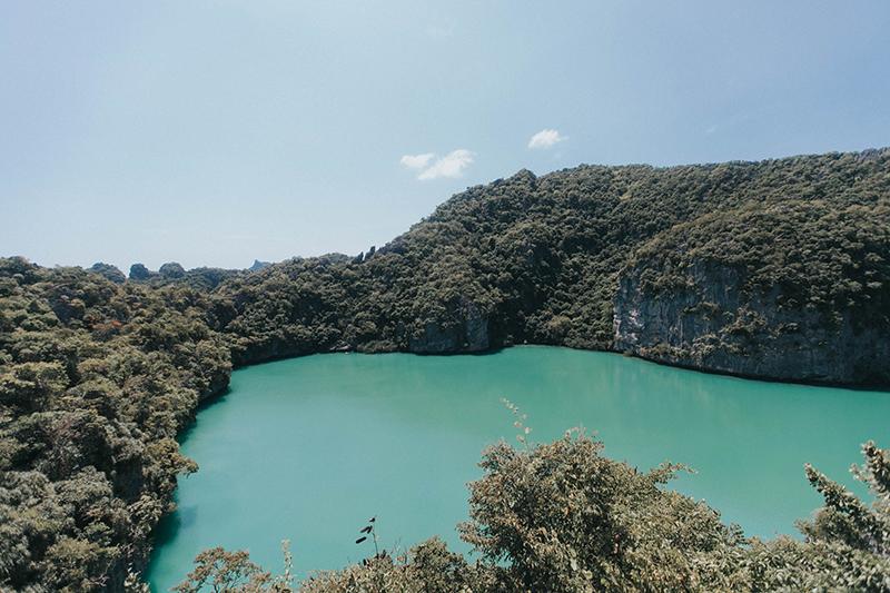 emerald lagoon - part of the ang thong marine park tour