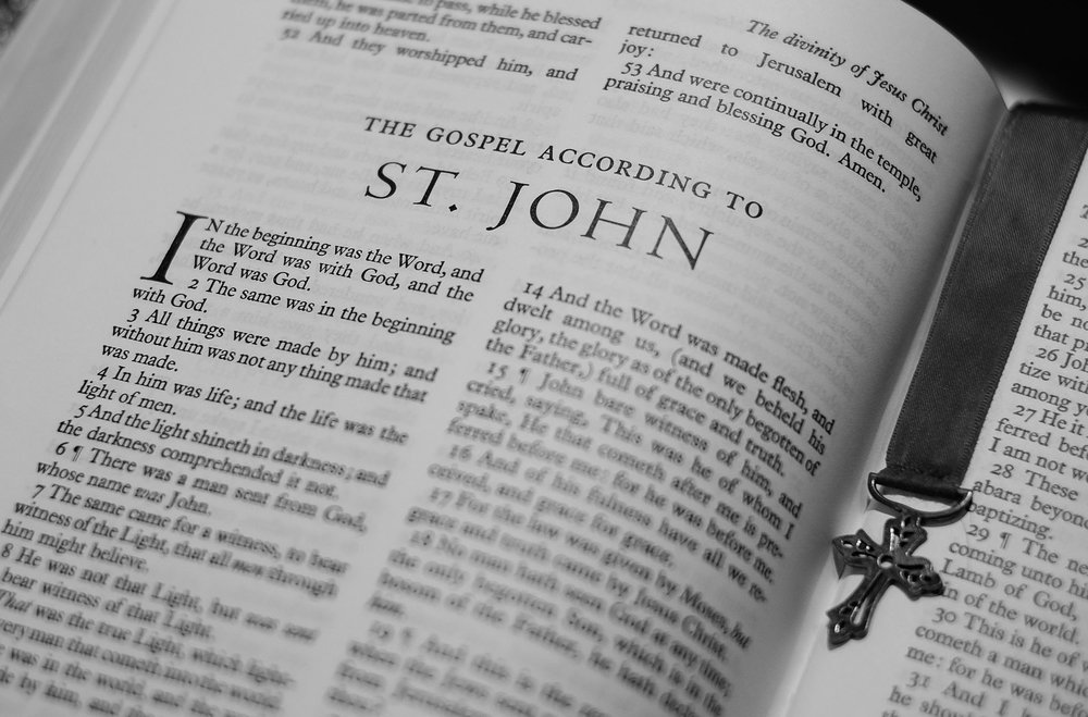 We are currently in a sermon series on the Gospel of John.