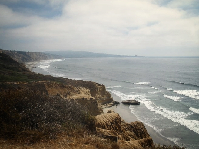 One of the many views from Torrey Pines