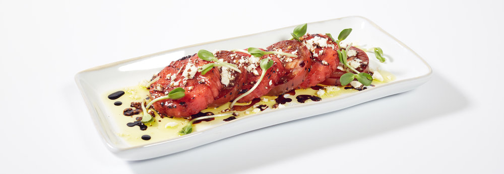 Grilled Watermelon and Tomato Salad
