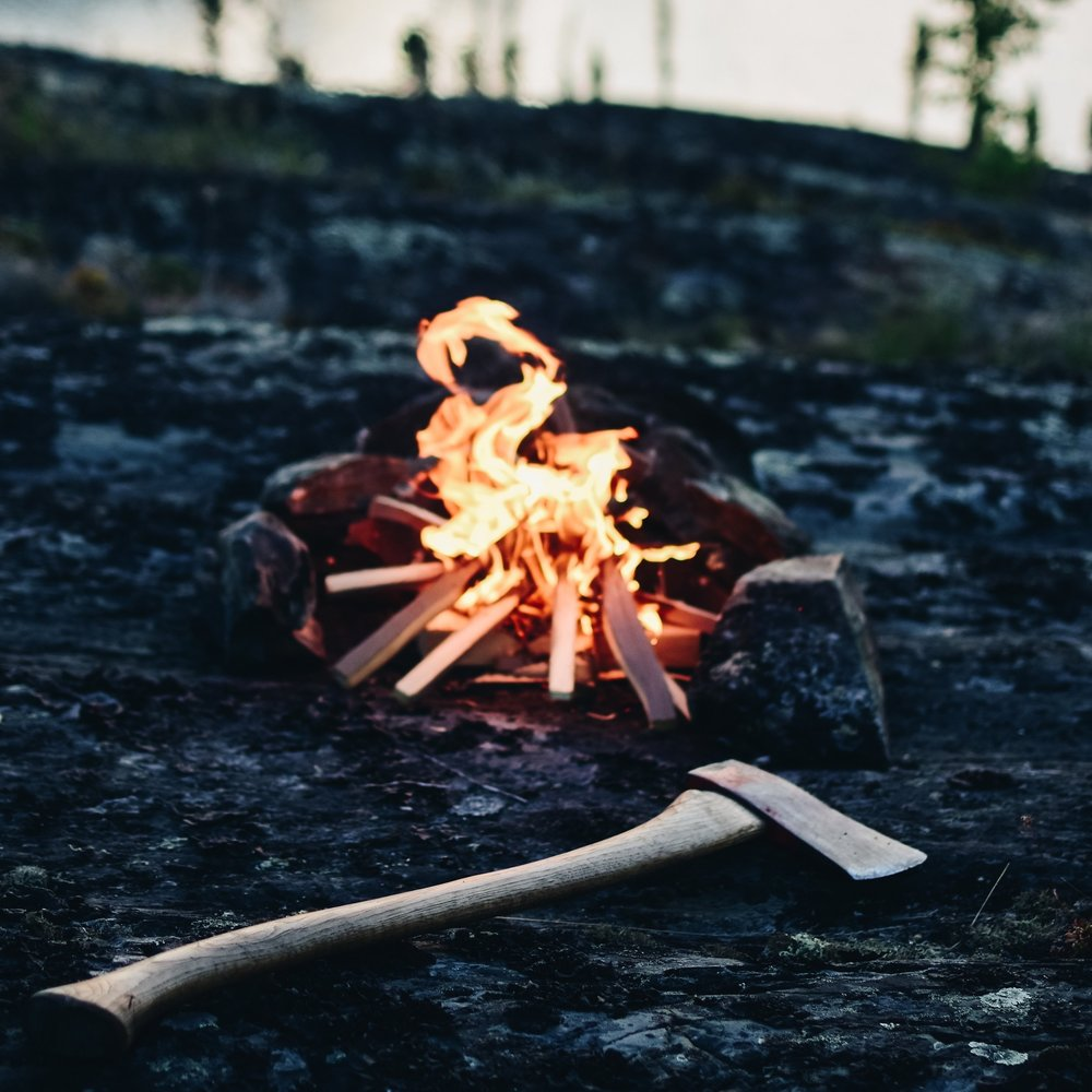 Campfire - We ignite our marketing efforts and begin to stoke the fire by gathering together, sharing stories and building a sense of community that fuels our growth.