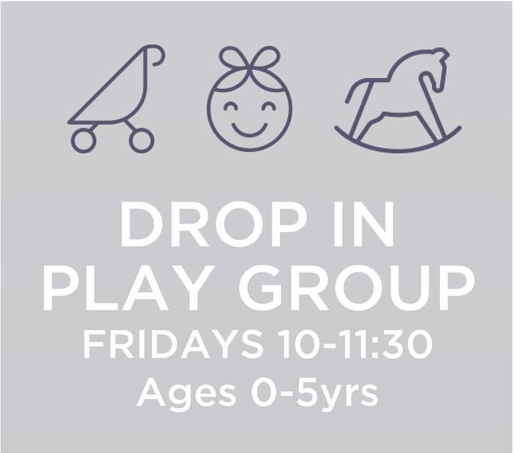 Click image to visit the Facebook Page for the Friday morning playgroups and stay updated on the activities and goings on of the group!