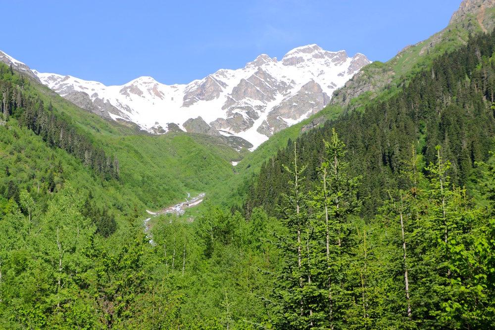 Mt.Ushba, 4,710m