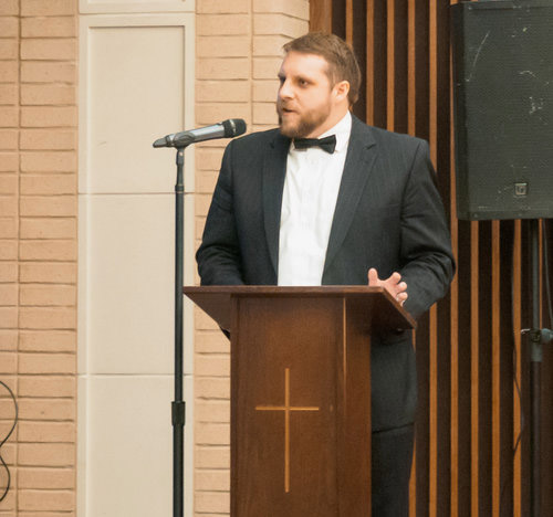 """Consider becoming a Continuing Volunteer for Vera Aqua Vera Vita . Serve on a committee for a special event like the inaugural gala, """"An Evening At A Speakeasy"""" which was this October 2018. Alex Johannigman Emceed at the gala, and he also spent numerous hours before the gala in its planning."""