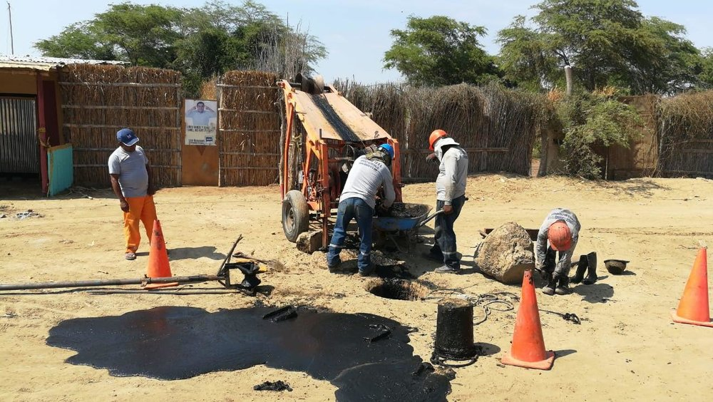 Sanitary Sewer System Funding Campaign - Because of your generosity we were able to Raise $10,000+ to pay Standard 10 (local Peruvian contractor) to complete their work cleaning, routine rehabbing, and televise inspecting the sanitary sewer system in Monte Castillo, Peru.