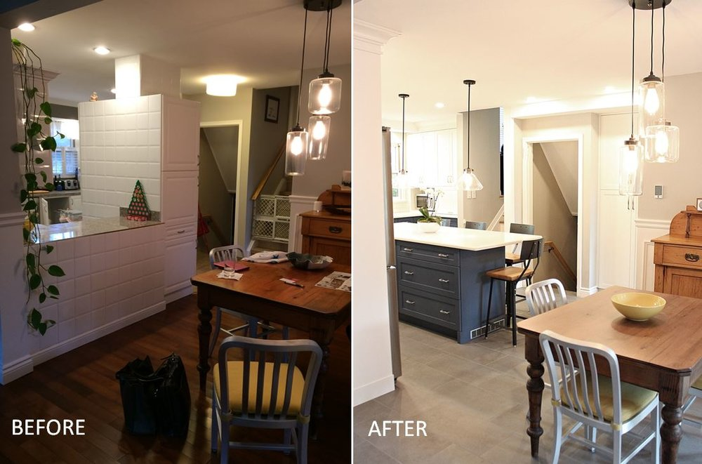 kmsd guelph kitchen before and after