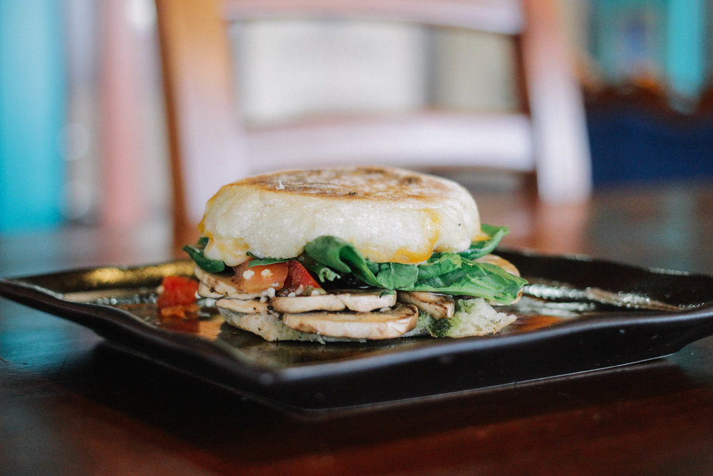 Veggie English Muffin