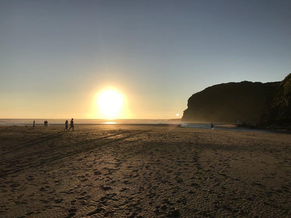 Te Henga (Bethels Beach. West Auckland)