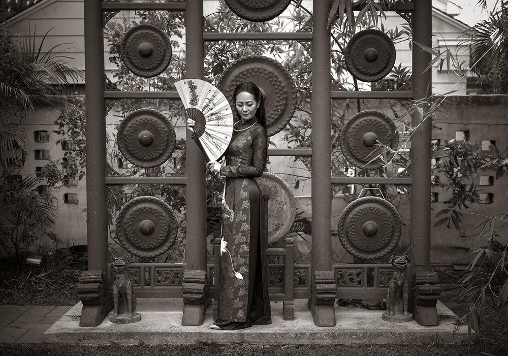 Model : Trang Ly
