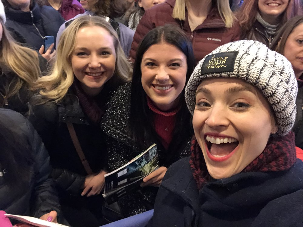 Christy Altomare, who plays the title role in  Anastasia !