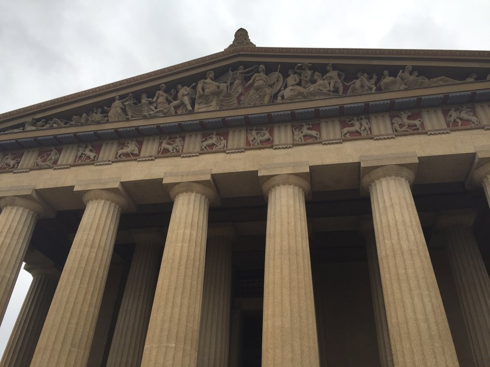 The Parthenon, Nashville-style.