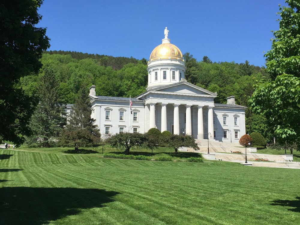 The Vermont State Capital in Montpelier.