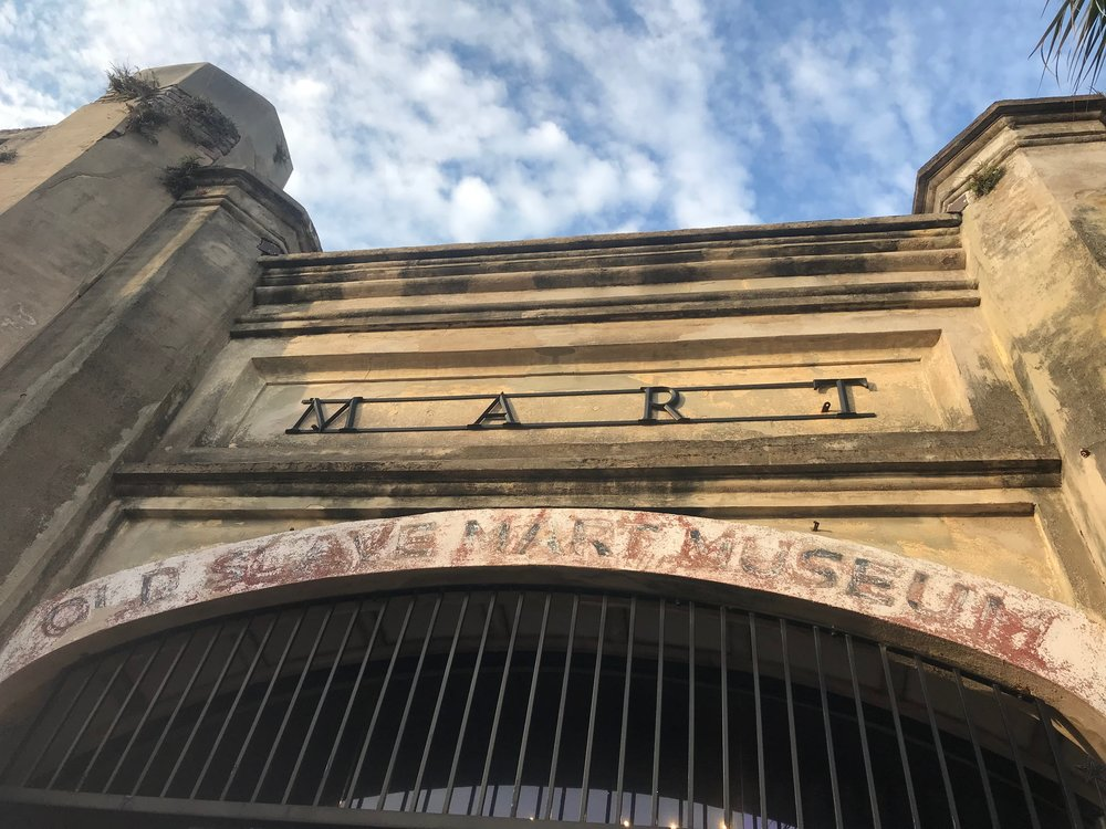 The Old Slave Mart is now a museum operated by the City of Charleston.