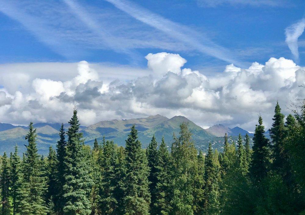 The Chugach Mountains, near Anchorage. Alaska is home to no fewer than 39 mountain ranges.