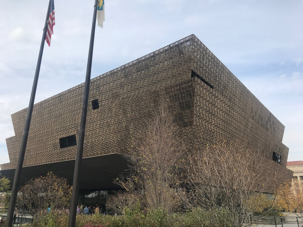 The Museum of African American History and Culture in Washington, DC.