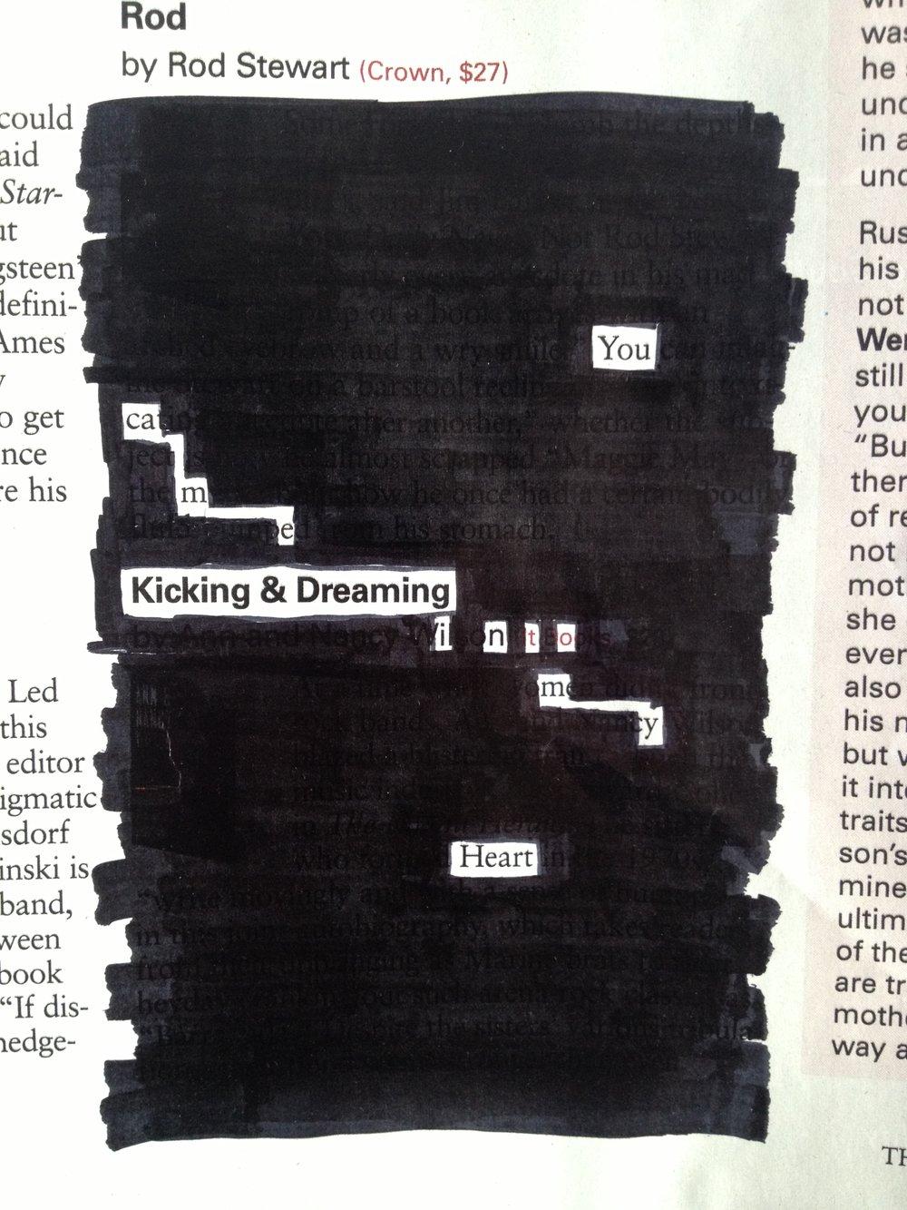 """""""Kicking & Dreaming"""""""