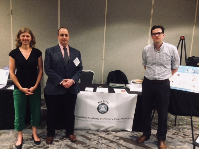 Hannah Gordon, Bill Walter, Tom Bell - NWRPCA Annual Spring Conference in Portland, OR - Connecting NDs and Community Health Centers