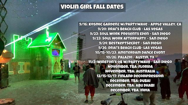 Here's where you can find me performing over the next few months with much more TBA 😍