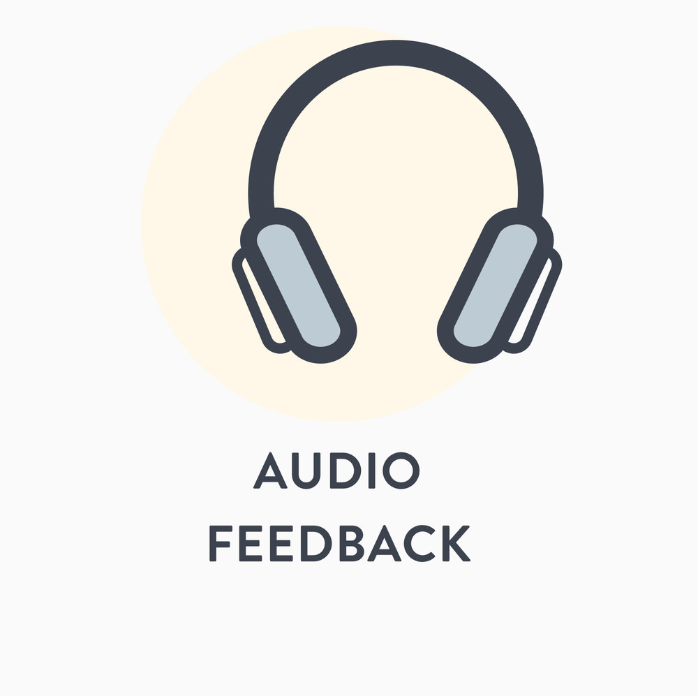Audio Feedback