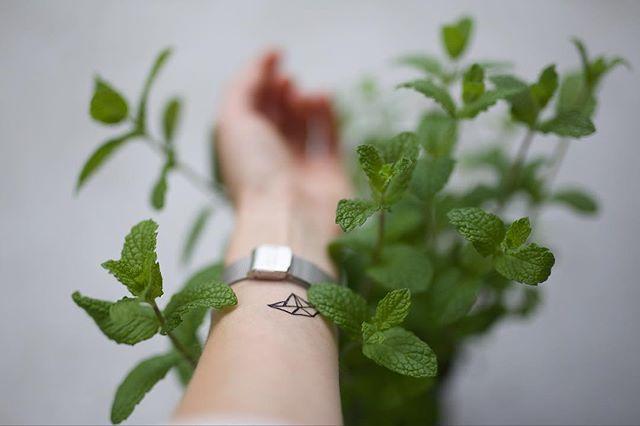 #origami #temporarytattoo #tattoo #mint #green #spring #nz #nzmade #fashion #plants #lifestyle #nzfashion #nzbloggers #auckland #aucklandlife #aucklandstyle #styleblogger