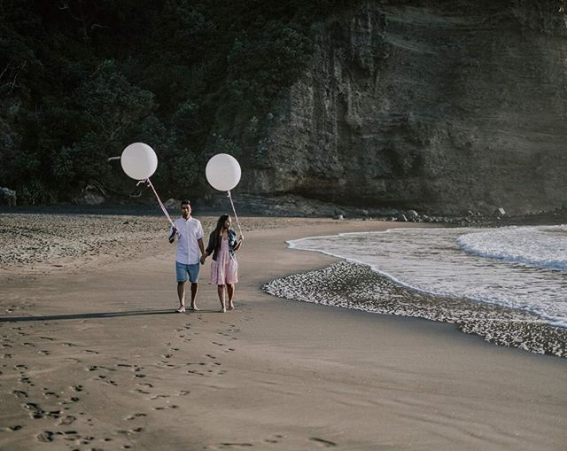 Enjoy the spring, be free of permanence @zanda_photography #temporarytattoo #whiteballoons #balloon #sea #beach #summer #tattoo #nzmade #newzeland