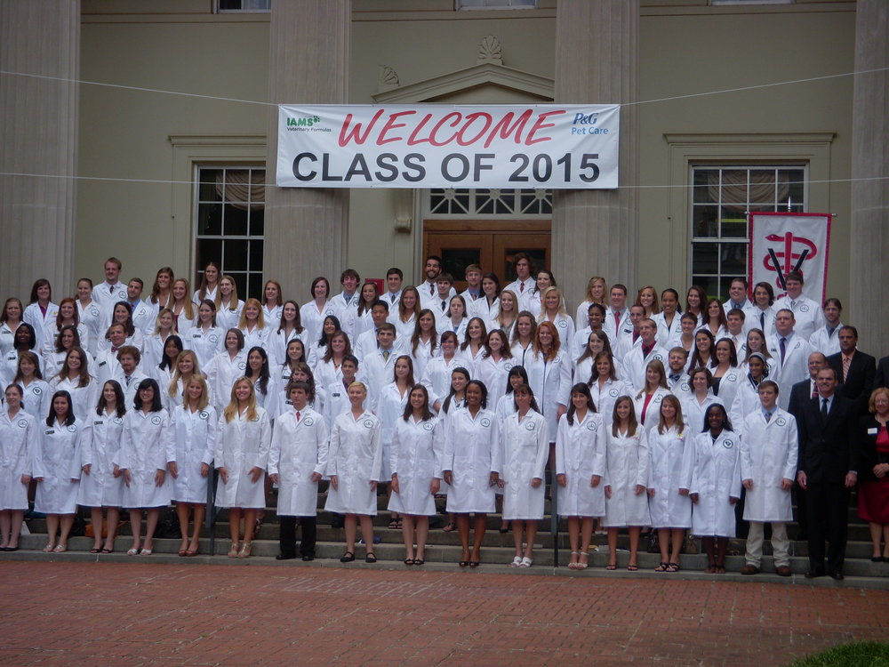Dr. Atticus Mabry's Veterinary School Class of 2015 @ UGA's College of Veterinary Medicine