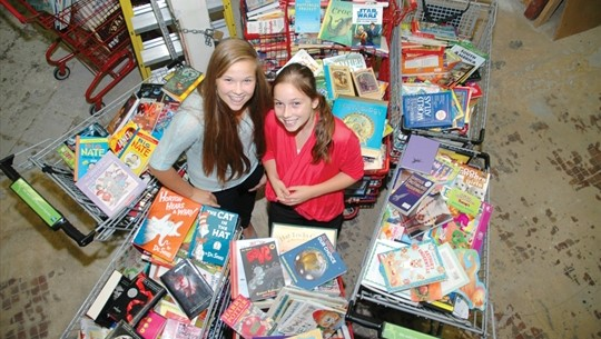 The Mogus sisters, Julia (2011 Delegate) and Emma (2013 Delegate) began a charity focused on helping Aboriginal Canadians in 2011. Since then, Books With No Bounds has shipped 205,000 books, 75,000 school supplies, 100 computers & tablets to communities, families and organizations throughout Canada and worldwide.