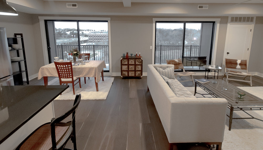 LOFT 307 1,300 sq. ft. 2 bed - 2 bath $2,990 Monthly Turn key unit pricing available. -