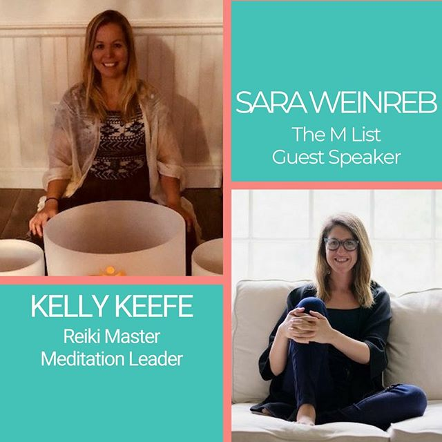 Meet the experts for our Summer Recharge event next Tuesday! Sara (@saraweinreb) is a strategist, facilitator, writer & founder of The M List. She serves as contributing writer to Forbes, mindbodygreen & more, focusing on social impact and mindful & sustainable living. Kelly (@iamkellykeefe) is a natural healer, coach, ceremony curator, and teacher working with medicines of the heart. She helps people break the barriers around their hearts, rewrite their life story, and step into the happiest and healthiest version of themselves. We hope to see you there!  #linkinbio #NourishandFlourish #recharge #meditate #mentalhealthawareness #selfcare #invisibledisability #summervibes #balancedlife #summerrecharge #refuel #event #therisejourney