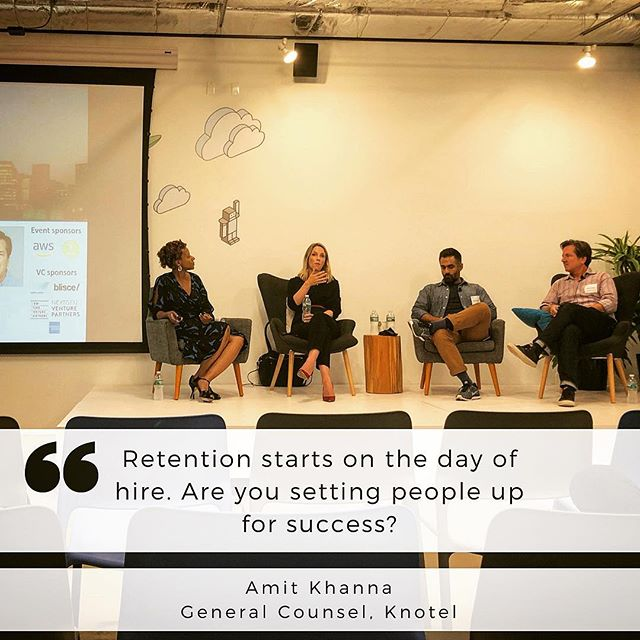 Interesting perspectives sparked great conversation at Monday's #nycblend event. Thanks to all the panelists, hosts & organizers 👏 . . Chris Davis @managedbyq Caroline Hofmann @joinrepublic  Amit Khanna @knotel  Chymeka Olfonse @build_nyc  @amazonwebservices  @americanexpress . . #startups #startuplife #venturecapital #entrepreneur #dobusinessbetter #diversityandinclusion #siliconalley #workplaceculture #hiring #sourcing #howto #buildteams
