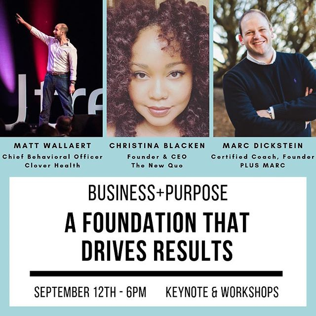 Don't miss this amazing lineup! Reserve your seat today ☝️ (link in bio) . @insideclover @russelltobin @mattwallaert