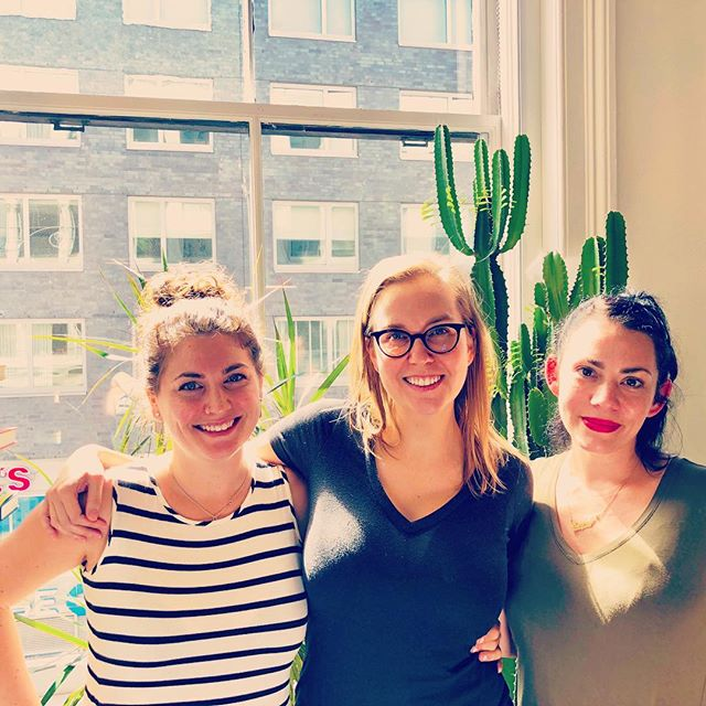 Awesome day coworking at @ebay with fellow @dreamersdoers (and 🌵)! 👩🏻👩🏼👩🏽👩🏾👩🏿 #dreamersanddoers #nyc #coworking #cultureissweet #therisejourney #womeninbusiness