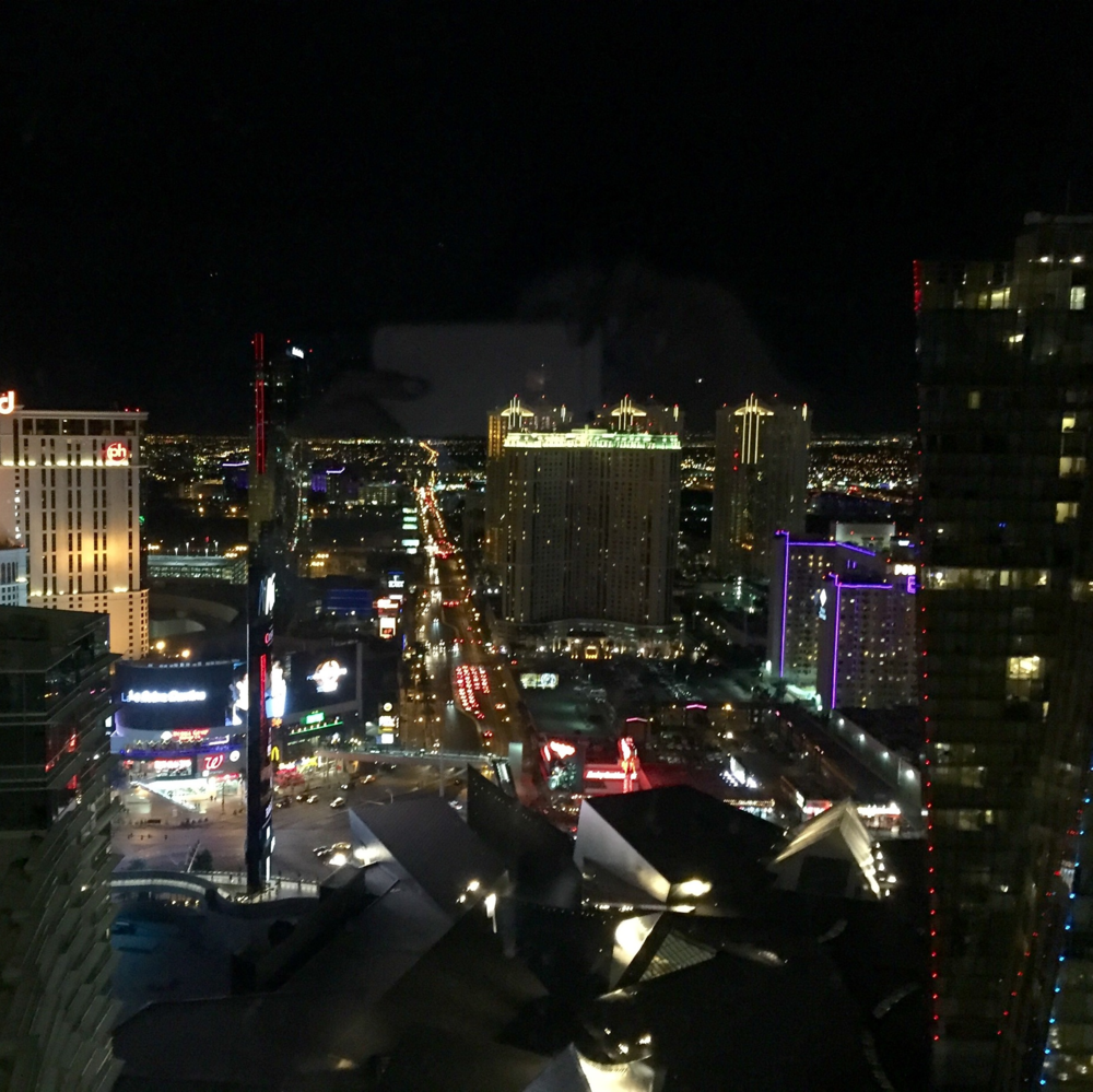 Our view of the strip!